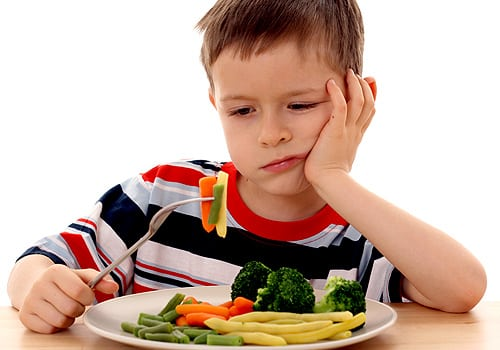 Que comen los niños