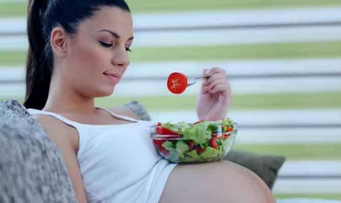 Que comen las embarazadas 2